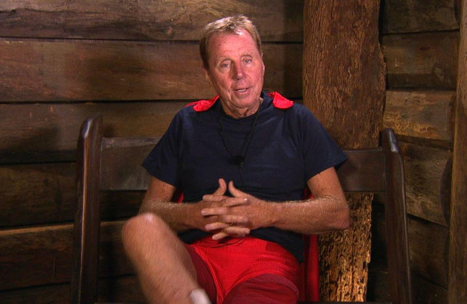Harry Redknapp, I'm A Celebrity 2018