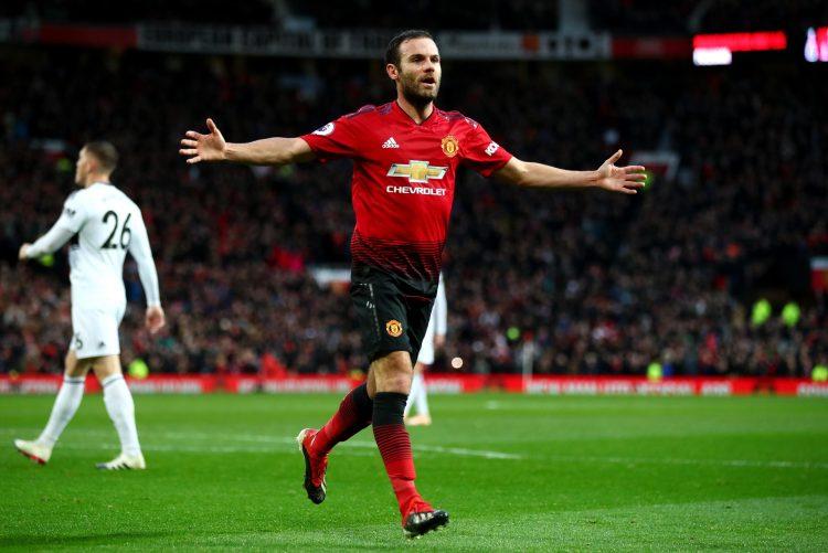 Juan Mata also got on the scoresheet for United