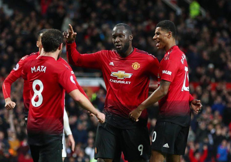 Romelu Lukaku scored as Man Utd beat Fulham 4-1