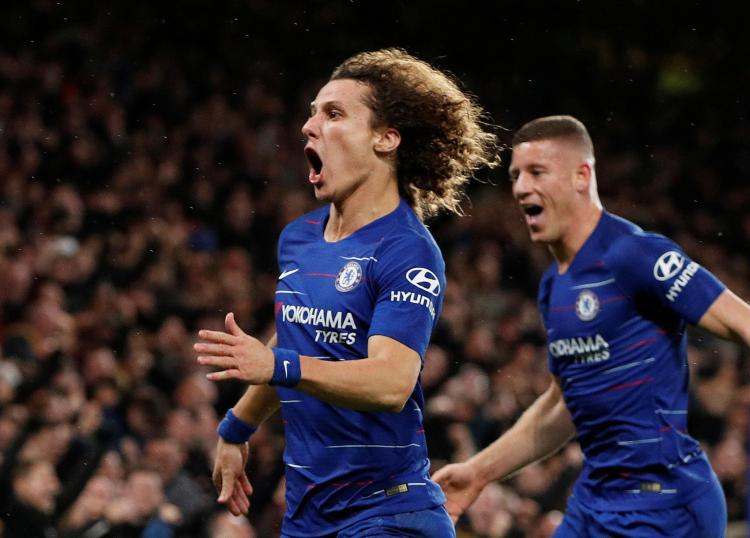 David Luiz also netted to inflict City's first defeat of the Premier League season