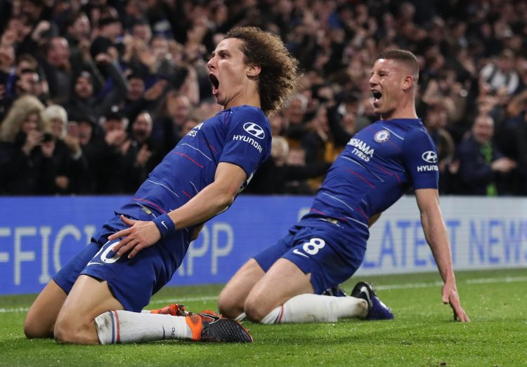 Luiz put some bad performances behind him with an incredible showing