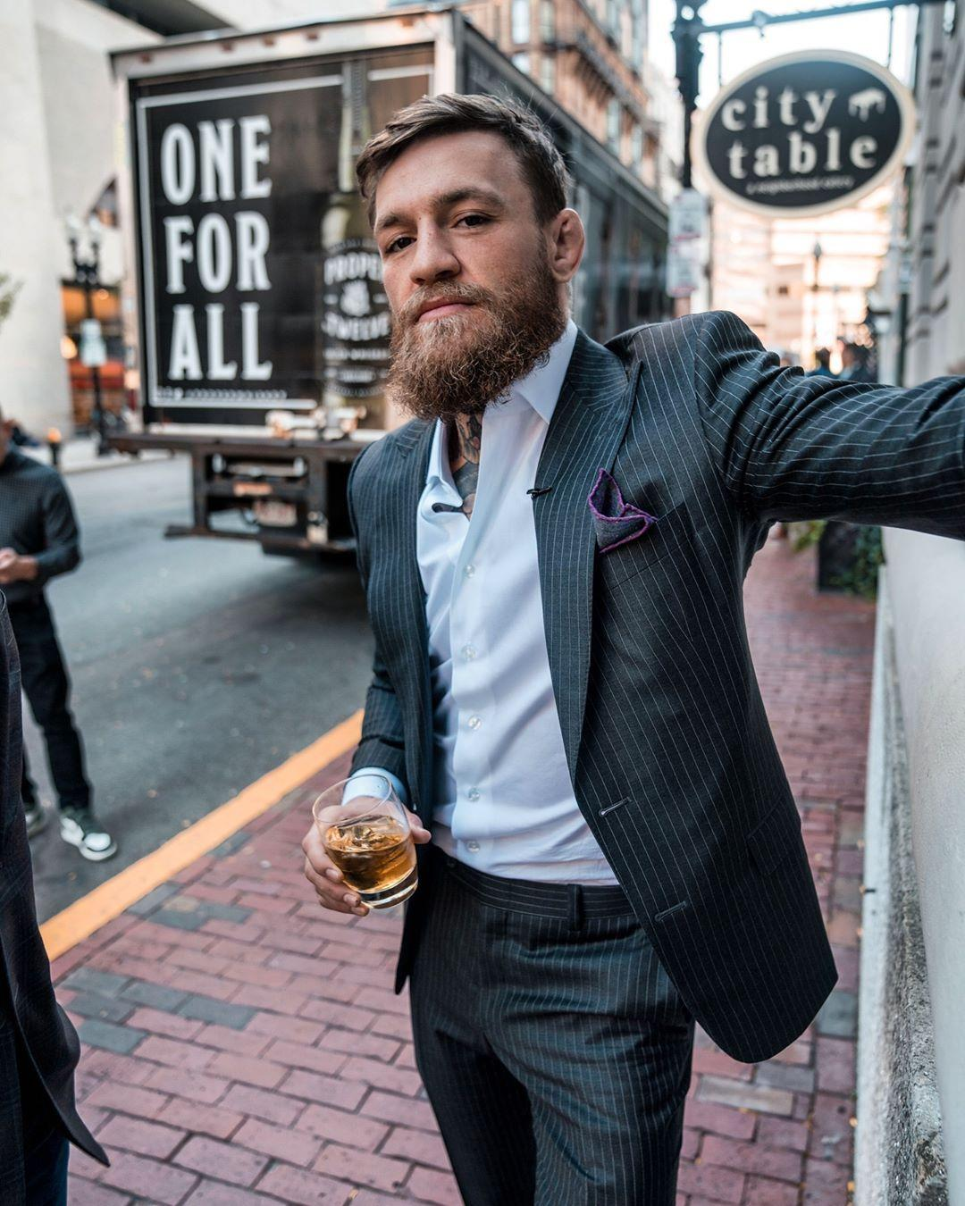 Conor McGregor is rarely seen outside of expensive clobber - and he doesn't have to pay for any of it