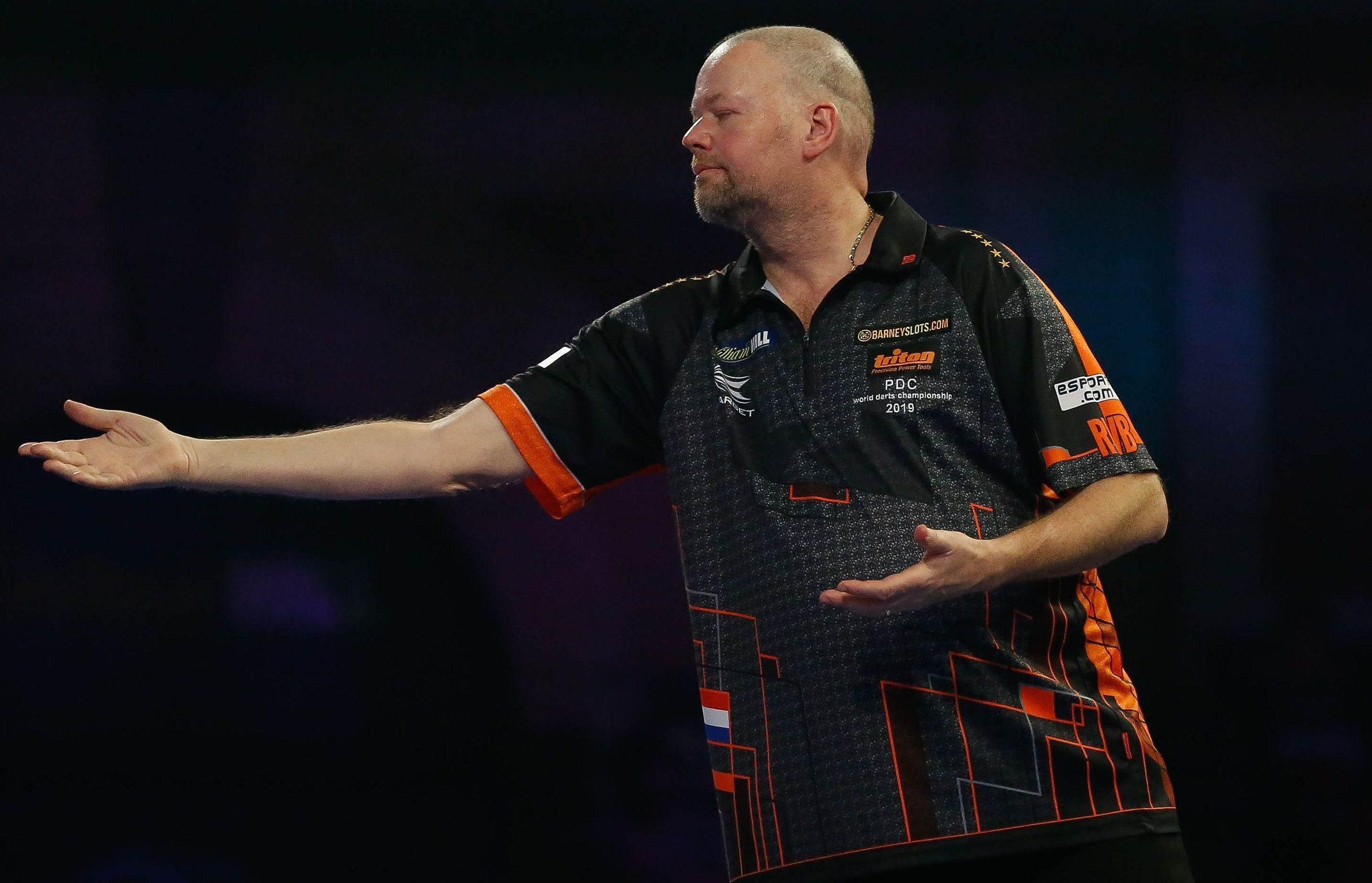 Raymond van Barneveld was left to lament a poor performance and an early exit