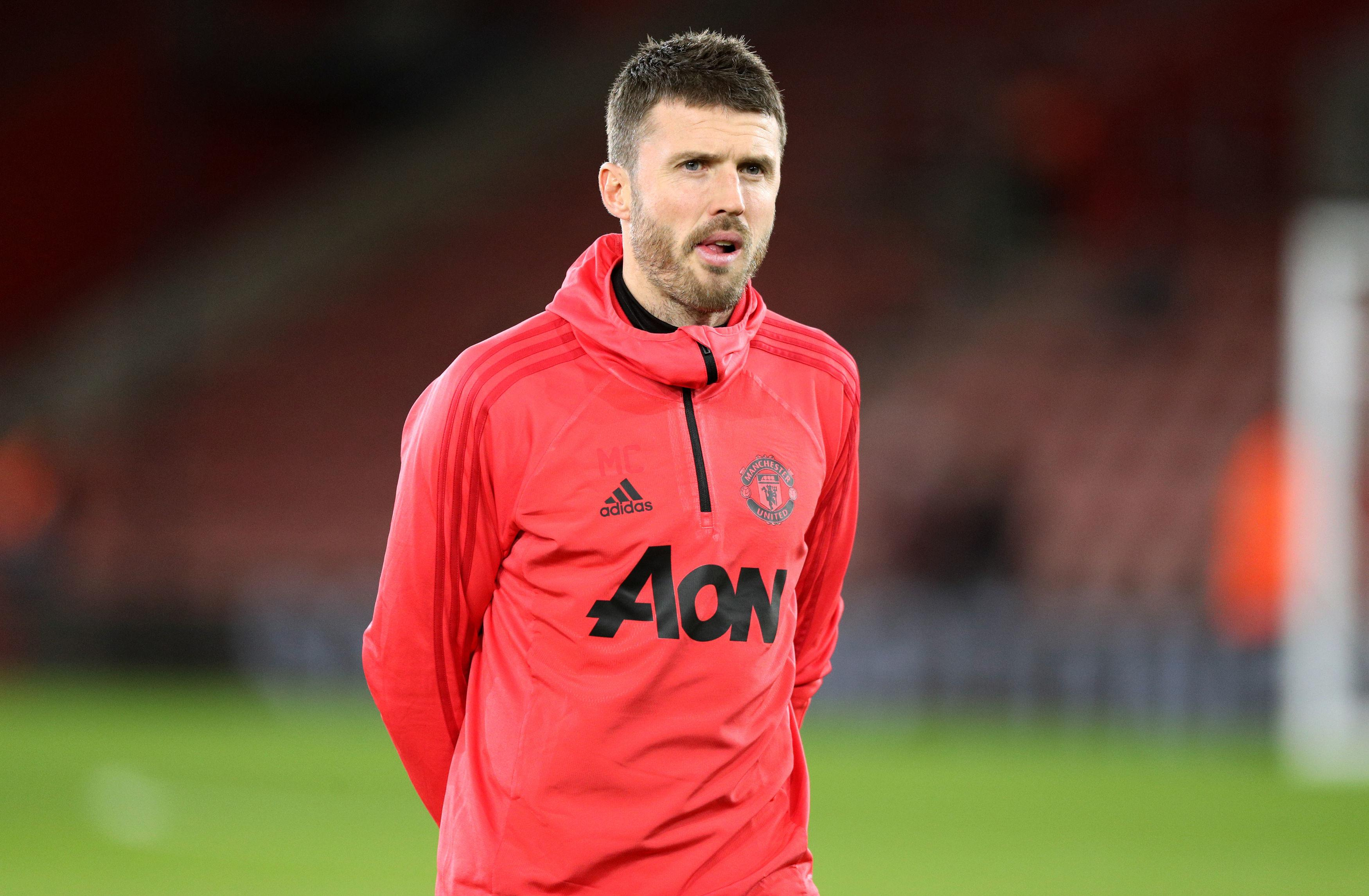 Michael Carrick put an end to Paul Pogba's gloating in training