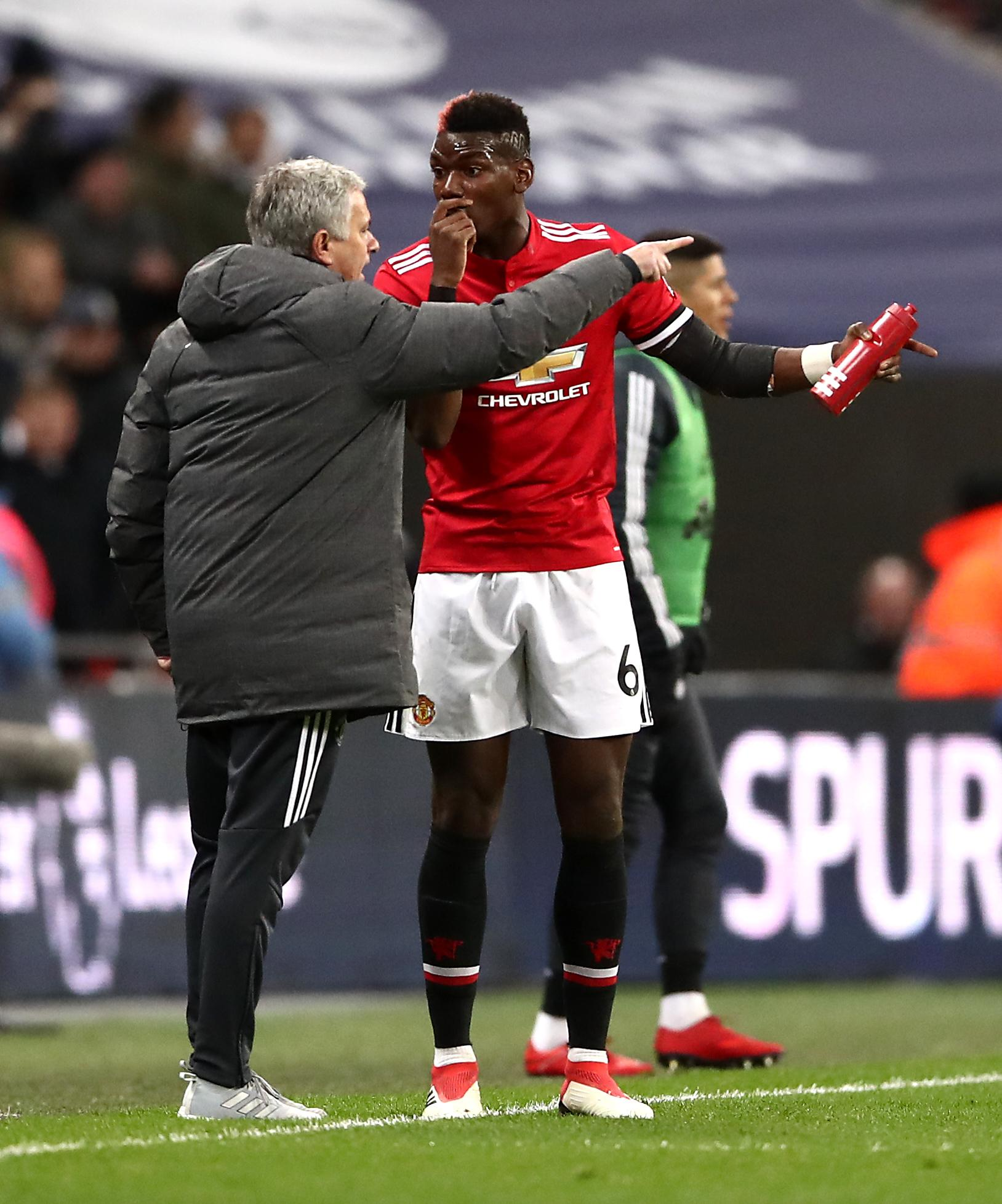 Paul Pogba warred with Jose Mourinho during the Portuguese's tenure