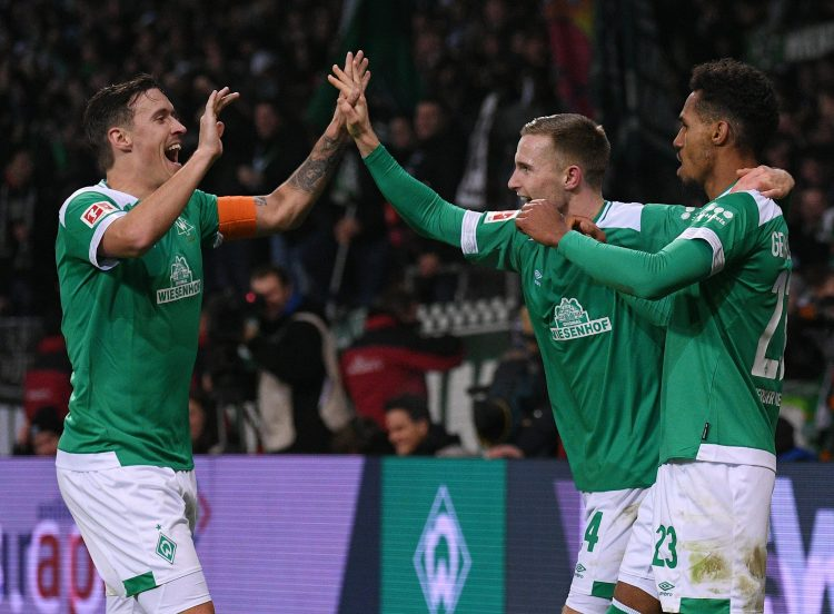 Werder Bremen fought back to earn a 1-1 draw in the game on Wednesday