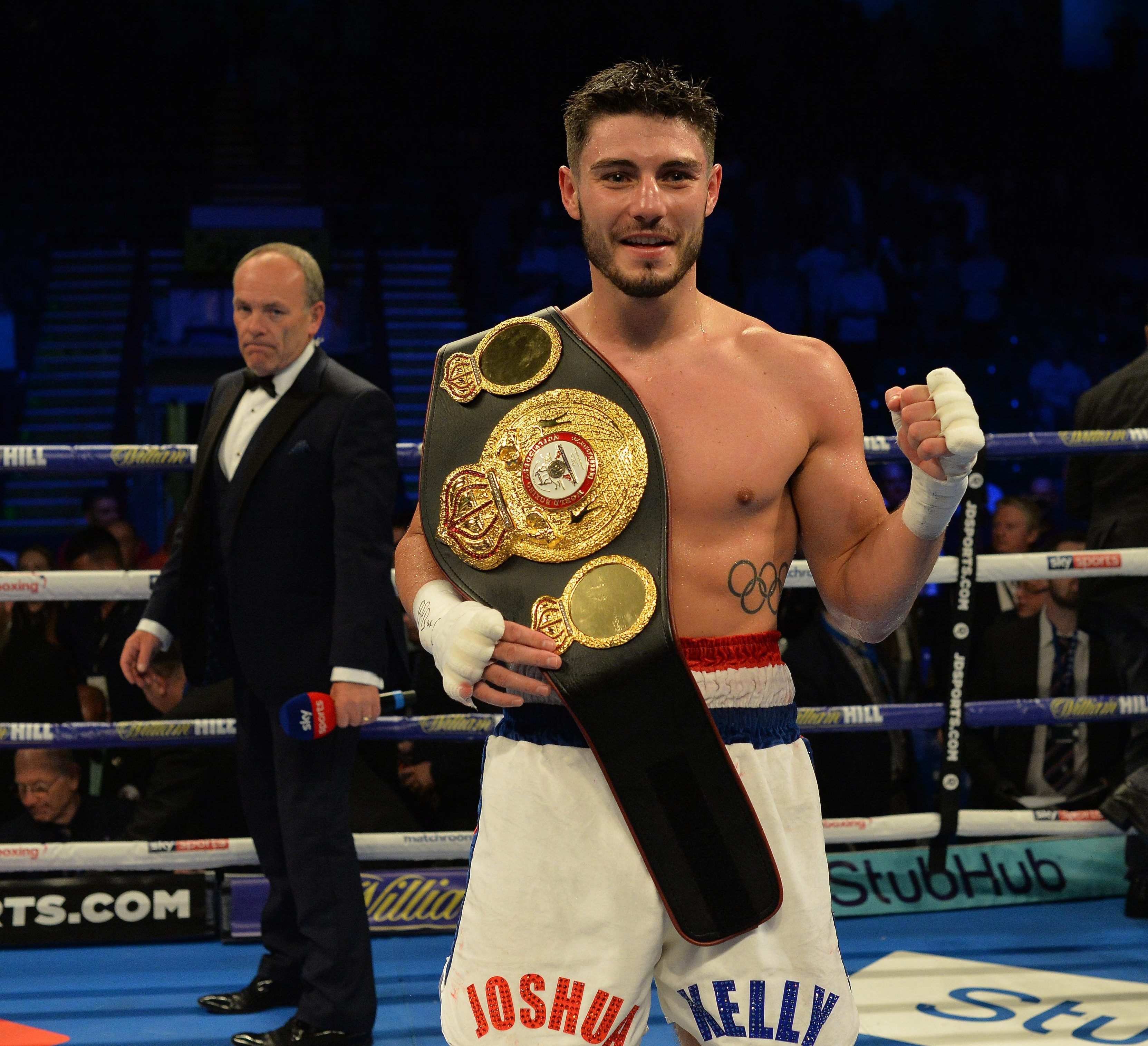 Sunderland fighter Josh Kelly already holds the WBA International and Commonwealth titles