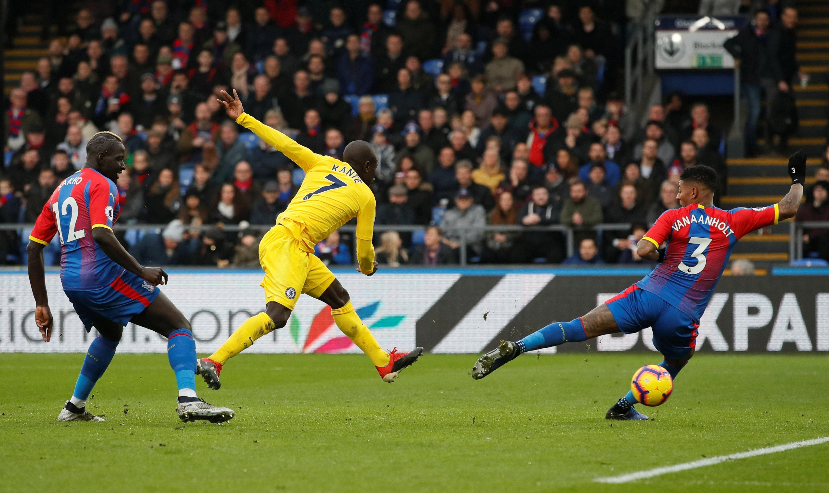 N'Golo Kante broke the deadlock early into the second half with a smart finish