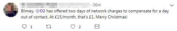 The compensation works out to barely a £1 for some customers