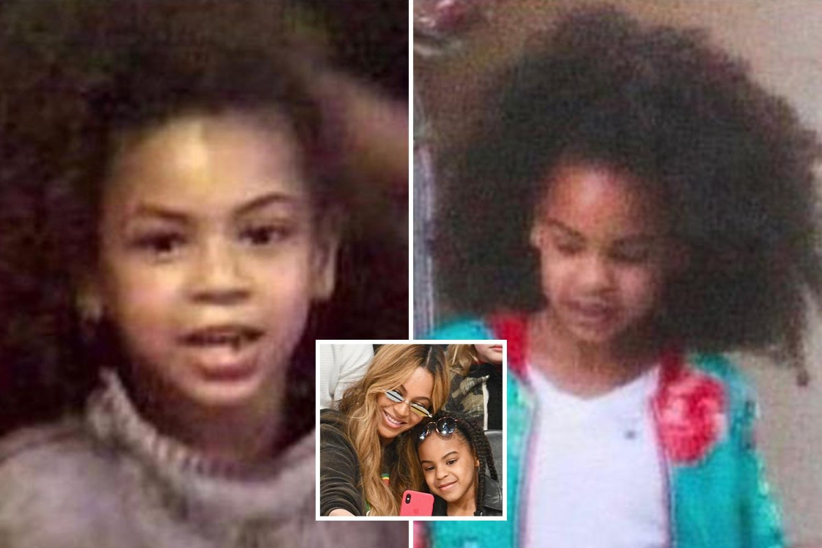 daughter blue ivy is her double
