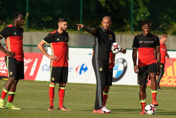 Henry knows Batshuayi well from his time coaching with Belgium