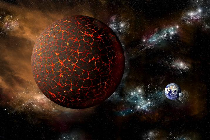 An artist's impression of planet Nibiru. Scientists say there's no proof the mysterious world exists