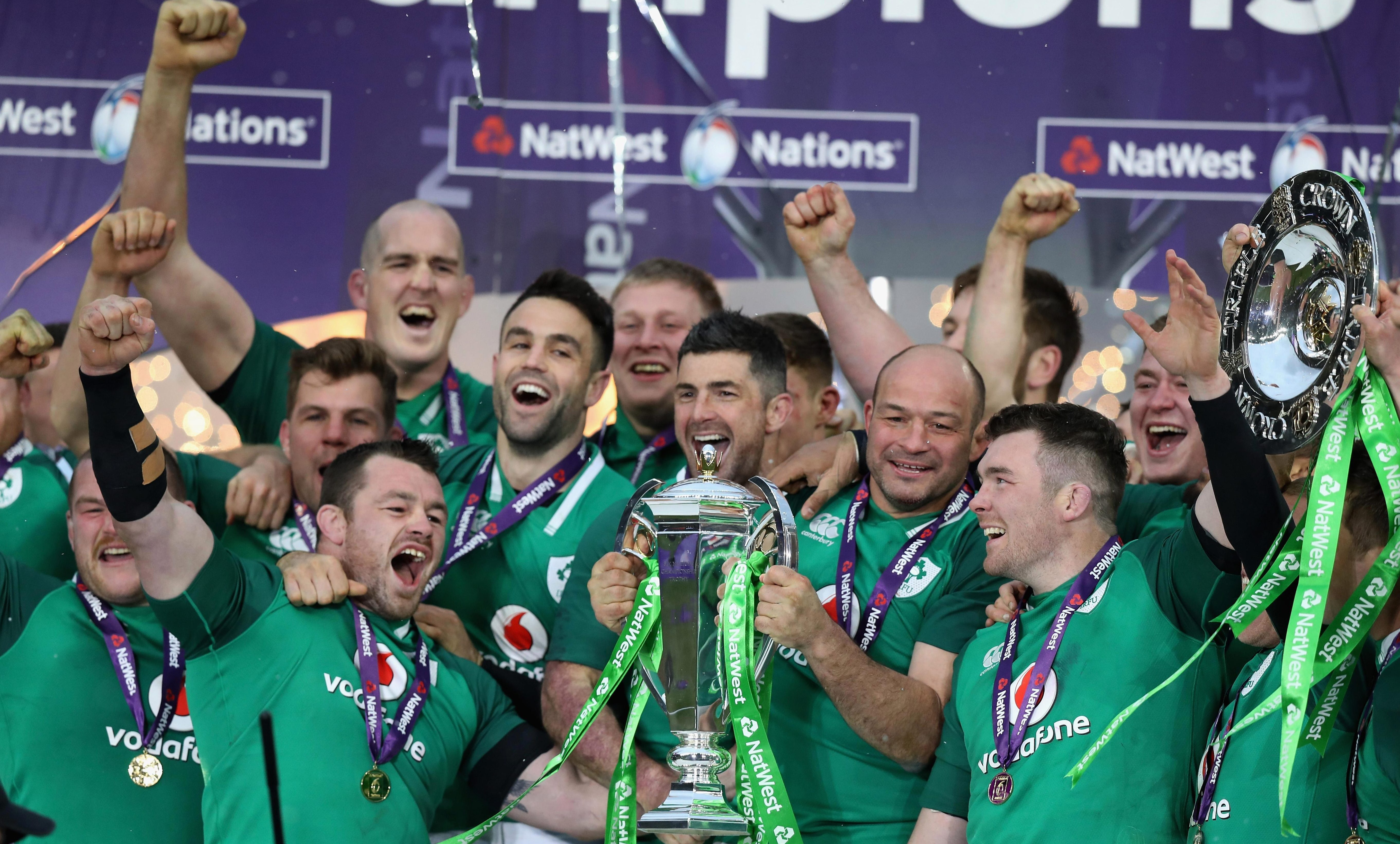 Ireland were last years Six Nations champions as they racked up a grand slam win