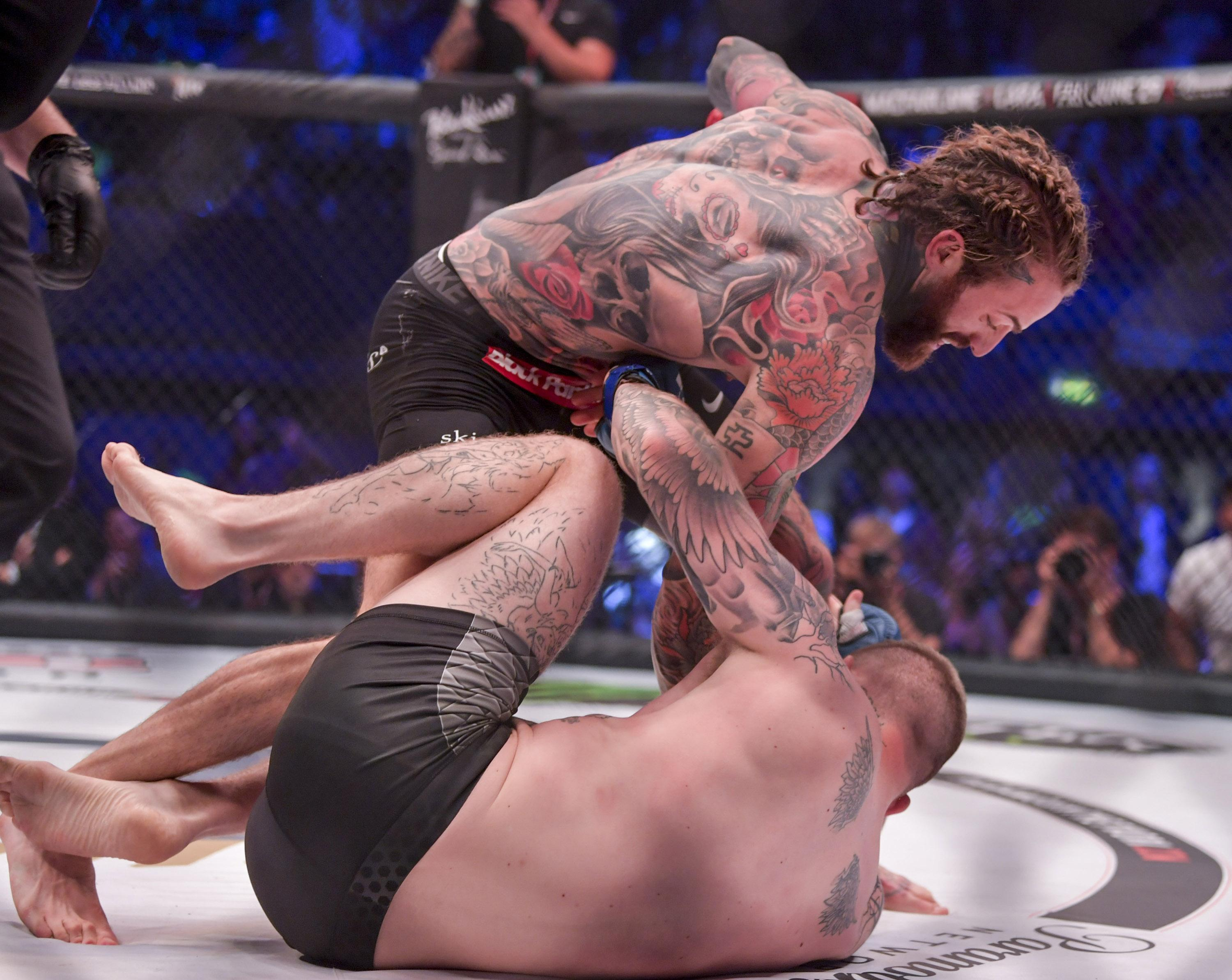 In Aaron Chalmers' last fight he made his Bellator MMA debut