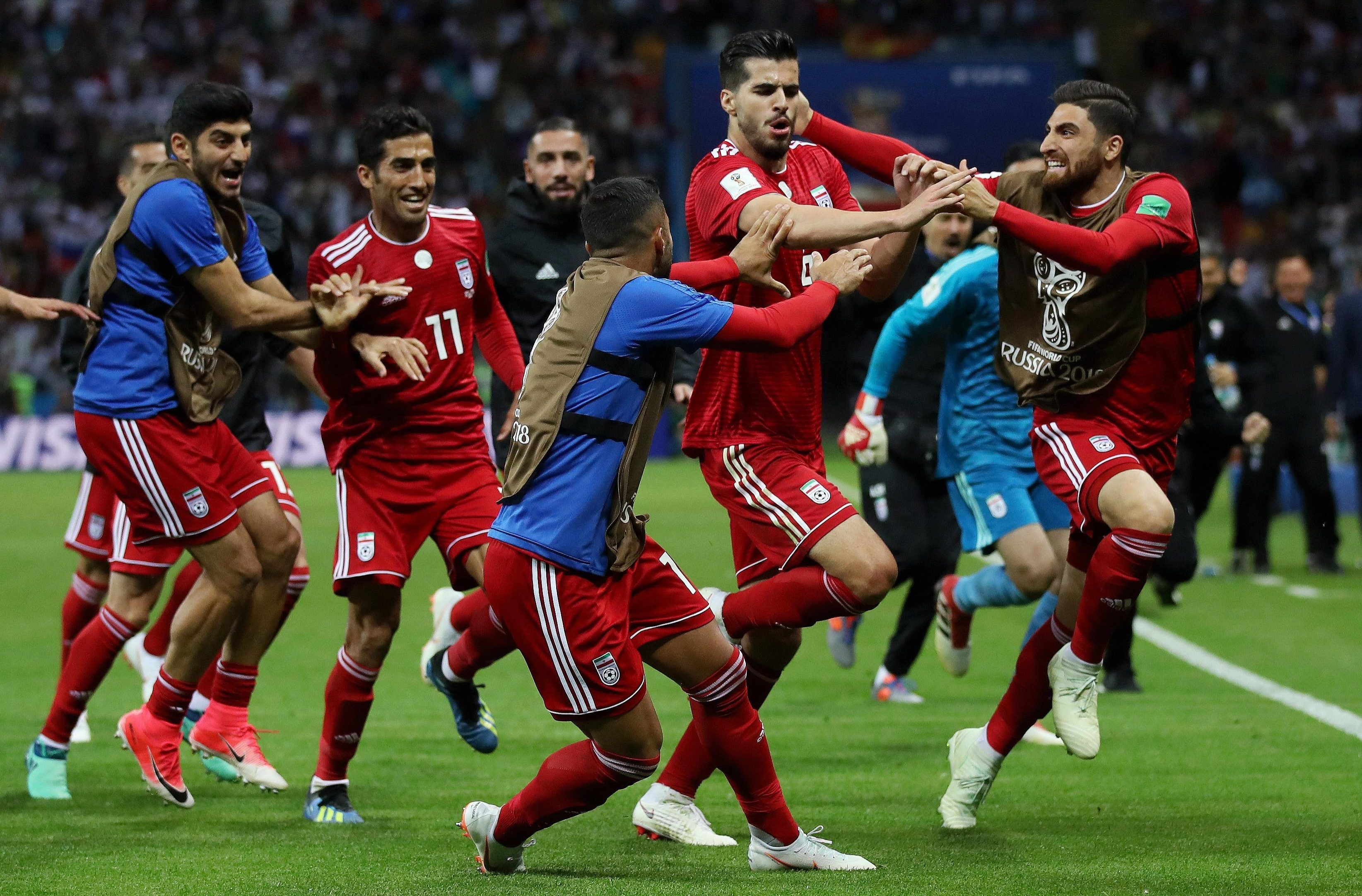 Iran caused both Spain and Portugal problems at the 2018 World Cup