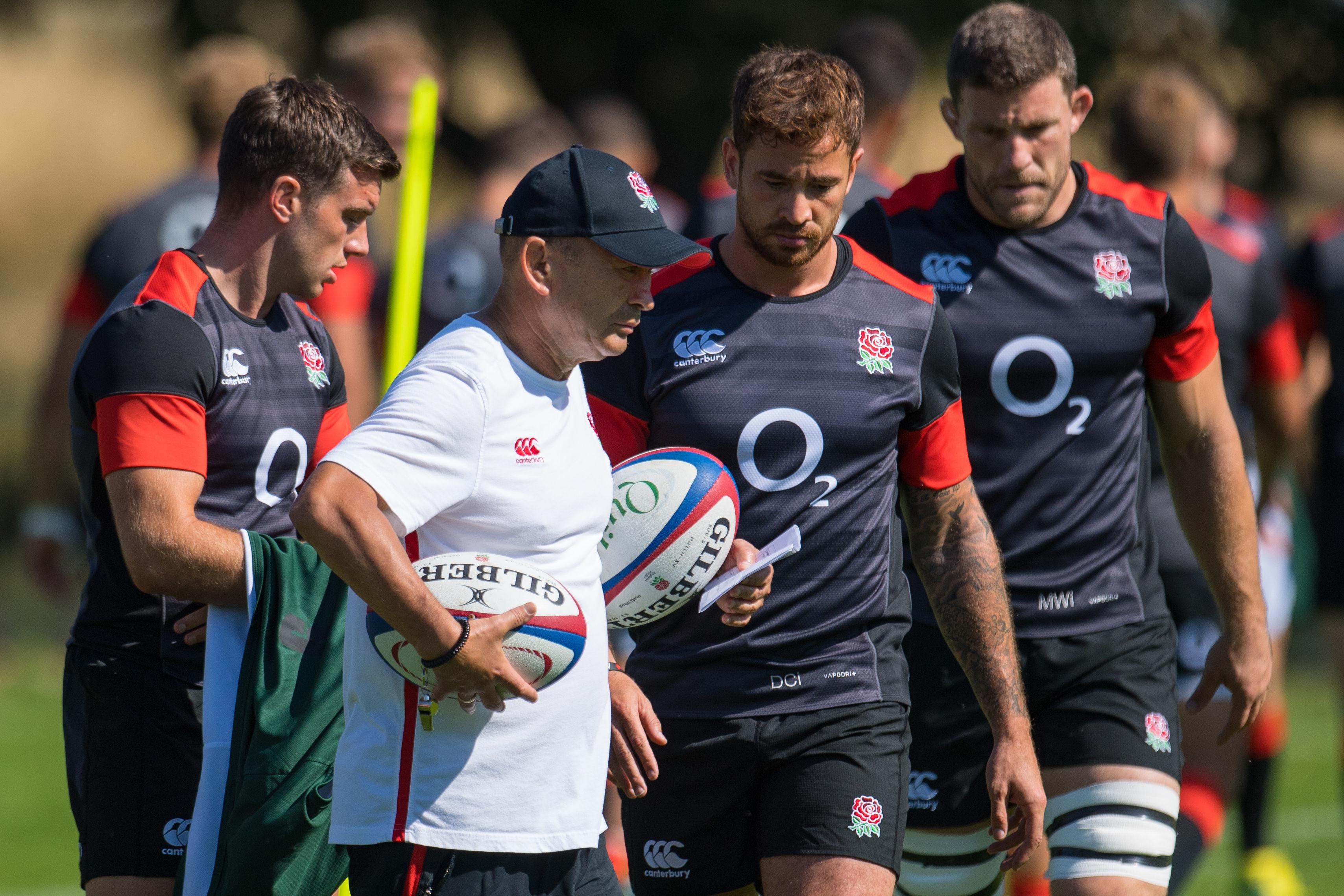 Eddie Jones still has Danny Cipriani under central contract with England - even though the star was snubbed during the Autumn internationals
