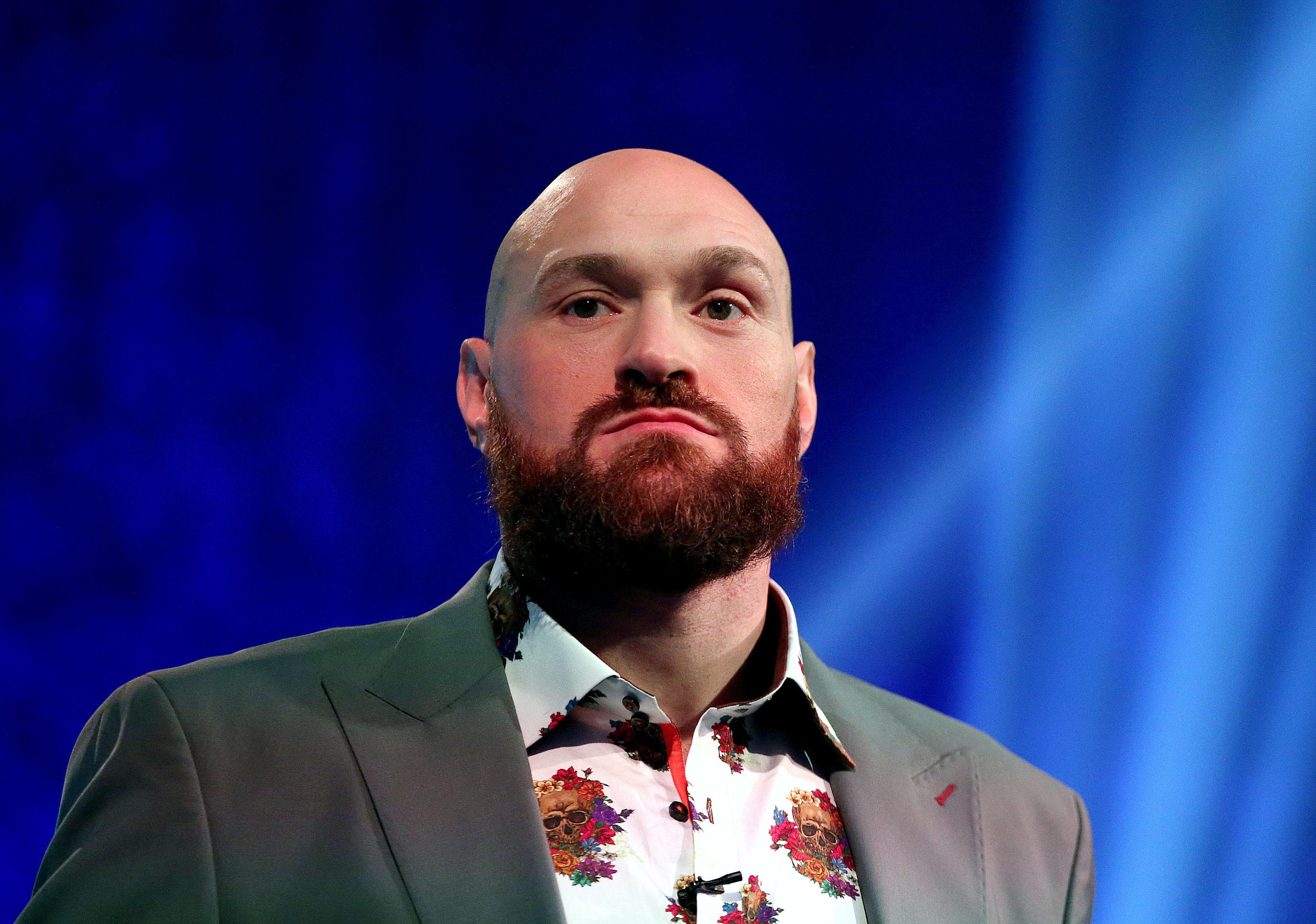 Former heavyweight world champion Tyson Fury will tour the UK and Ireland for 21 days
