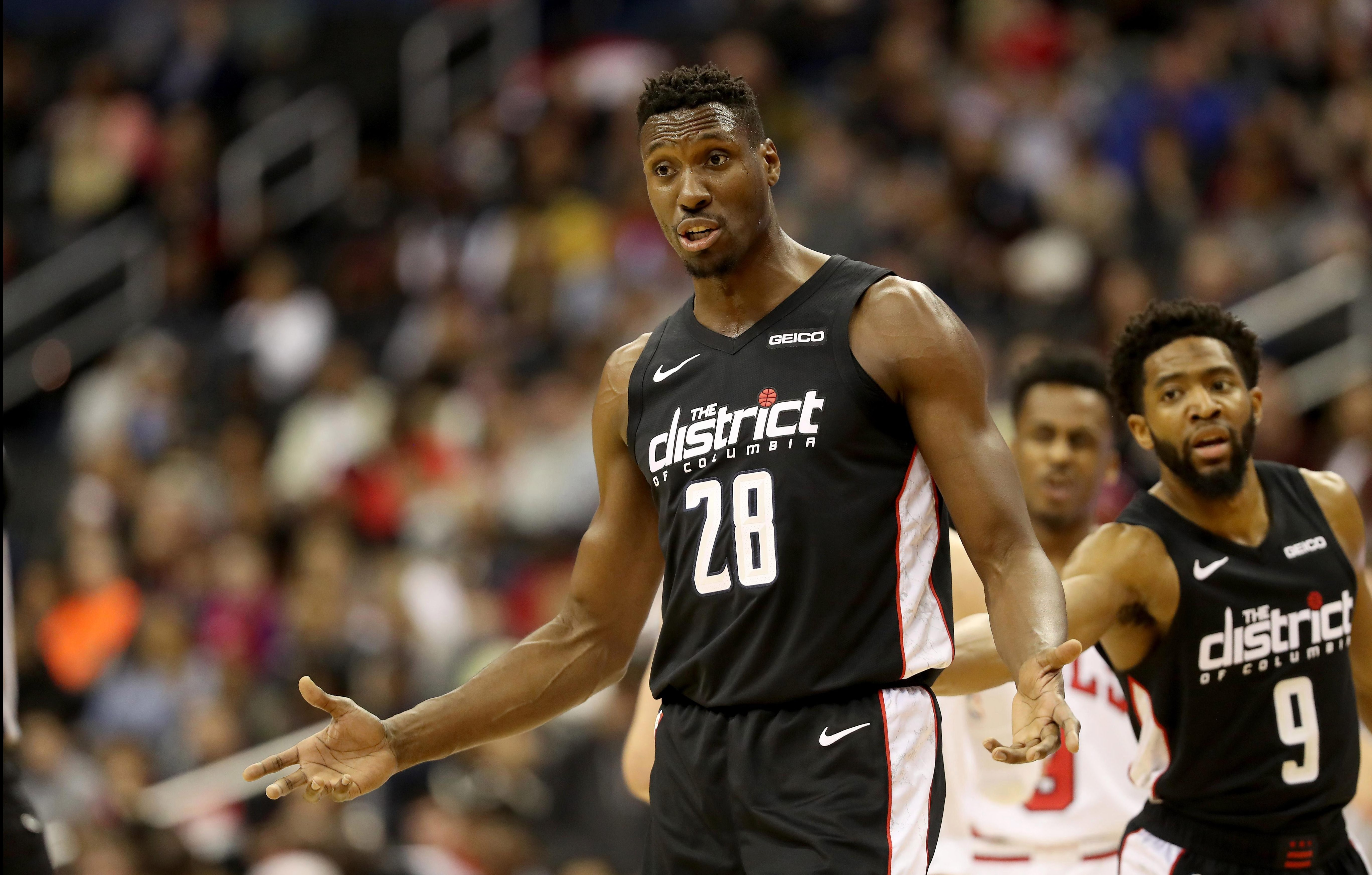 Ian Mahinmi will be back in Europe next week with the Washington Wizards