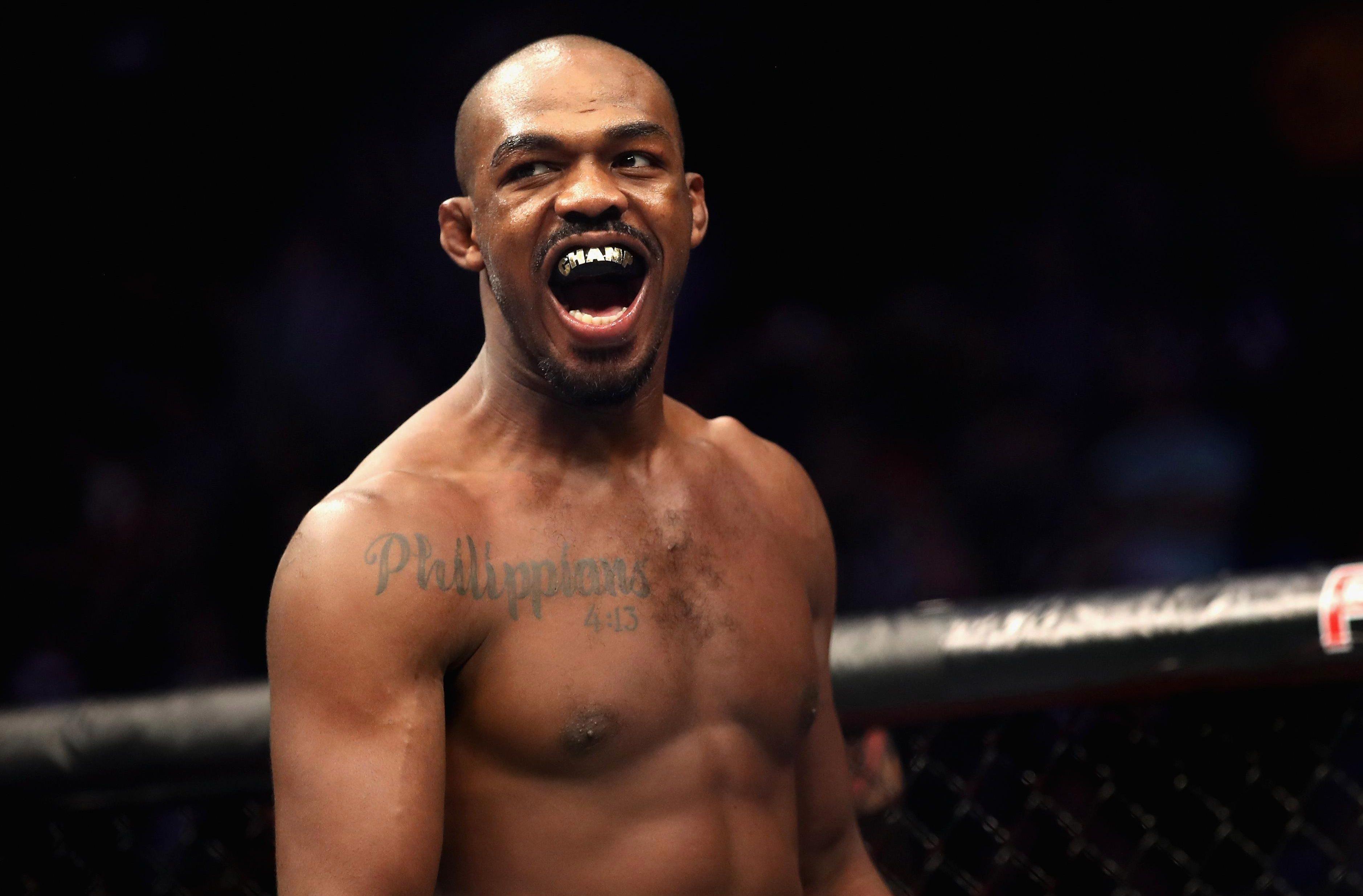 Jones is the current UFC light-heavyweight champion