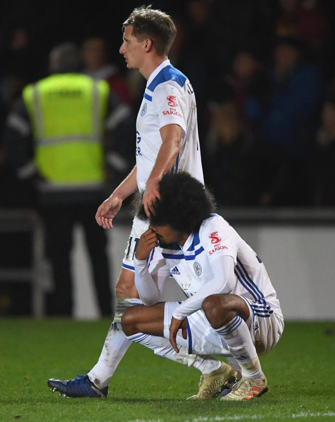 Leicester City came unstuck by League Two side Newport County in the shock of the round