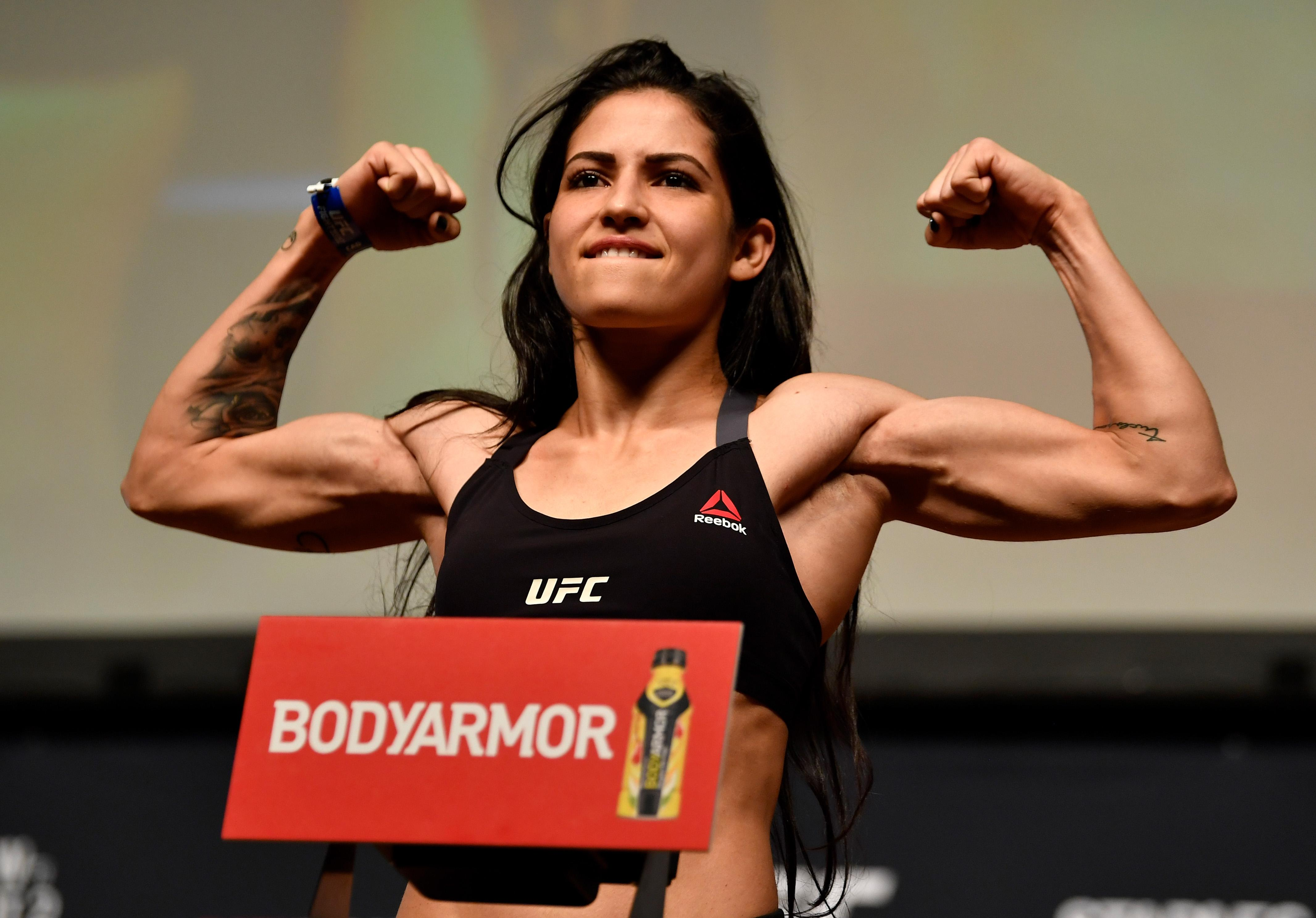 UFC star Polyana Viana has a professional record of 10-2
