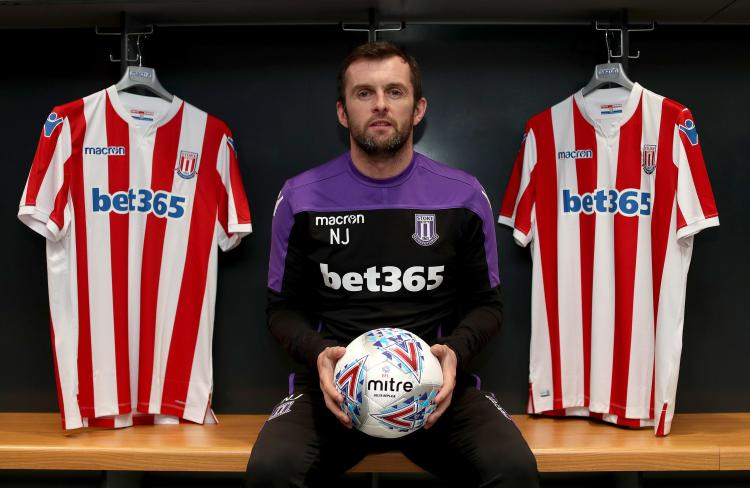 Nathan Jones is hoping to lead Stoke up the table from 14th