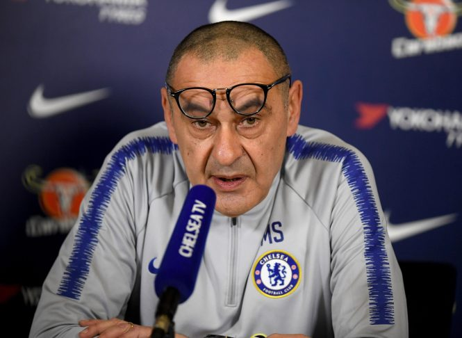 Maurizio Sarri has lashed out at Bayern for their pursuit of Hudson-Odoi