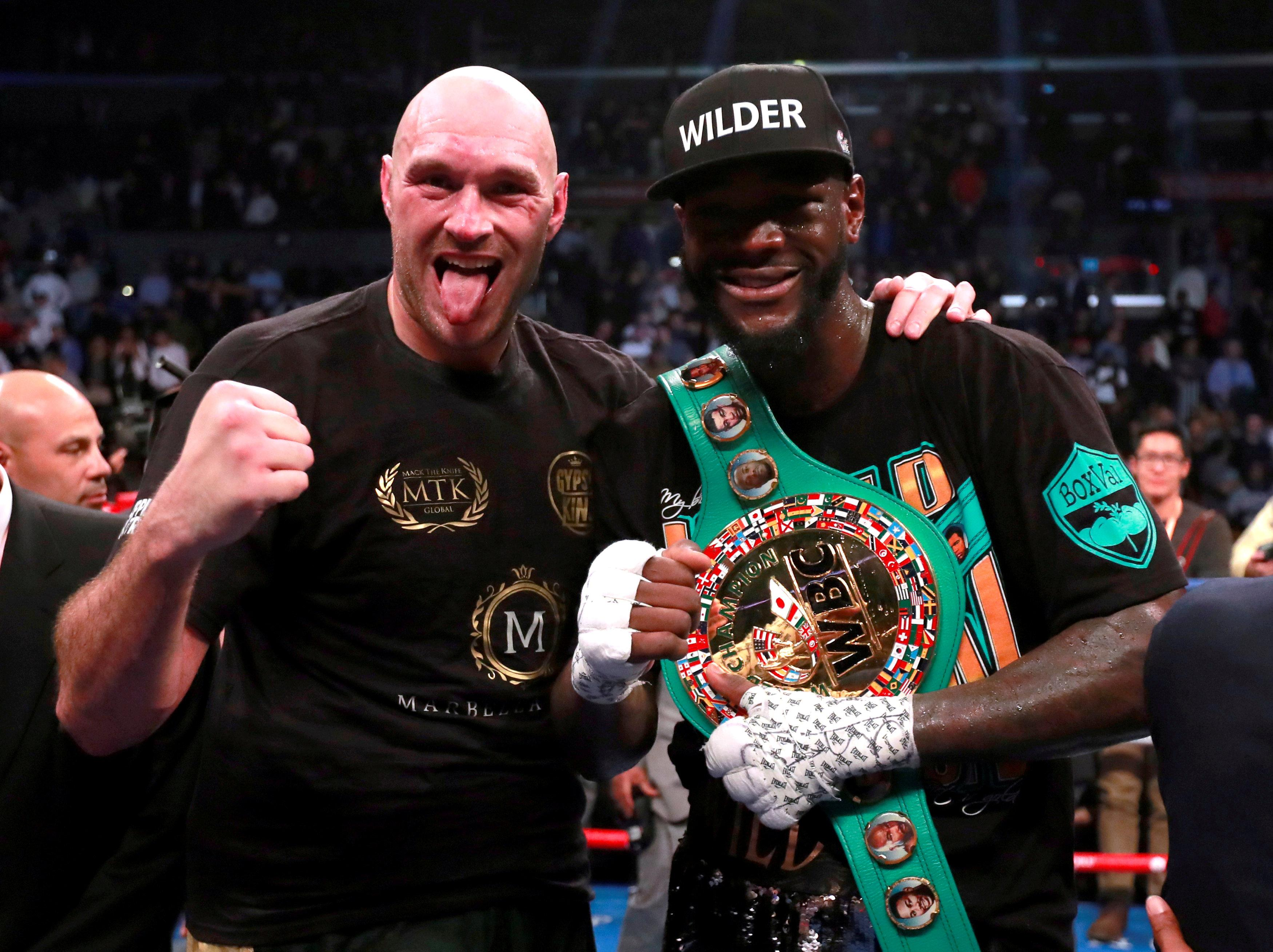 Despite showcasing superior boxing skill through the fight, Fury could only battle to a split-decision draw