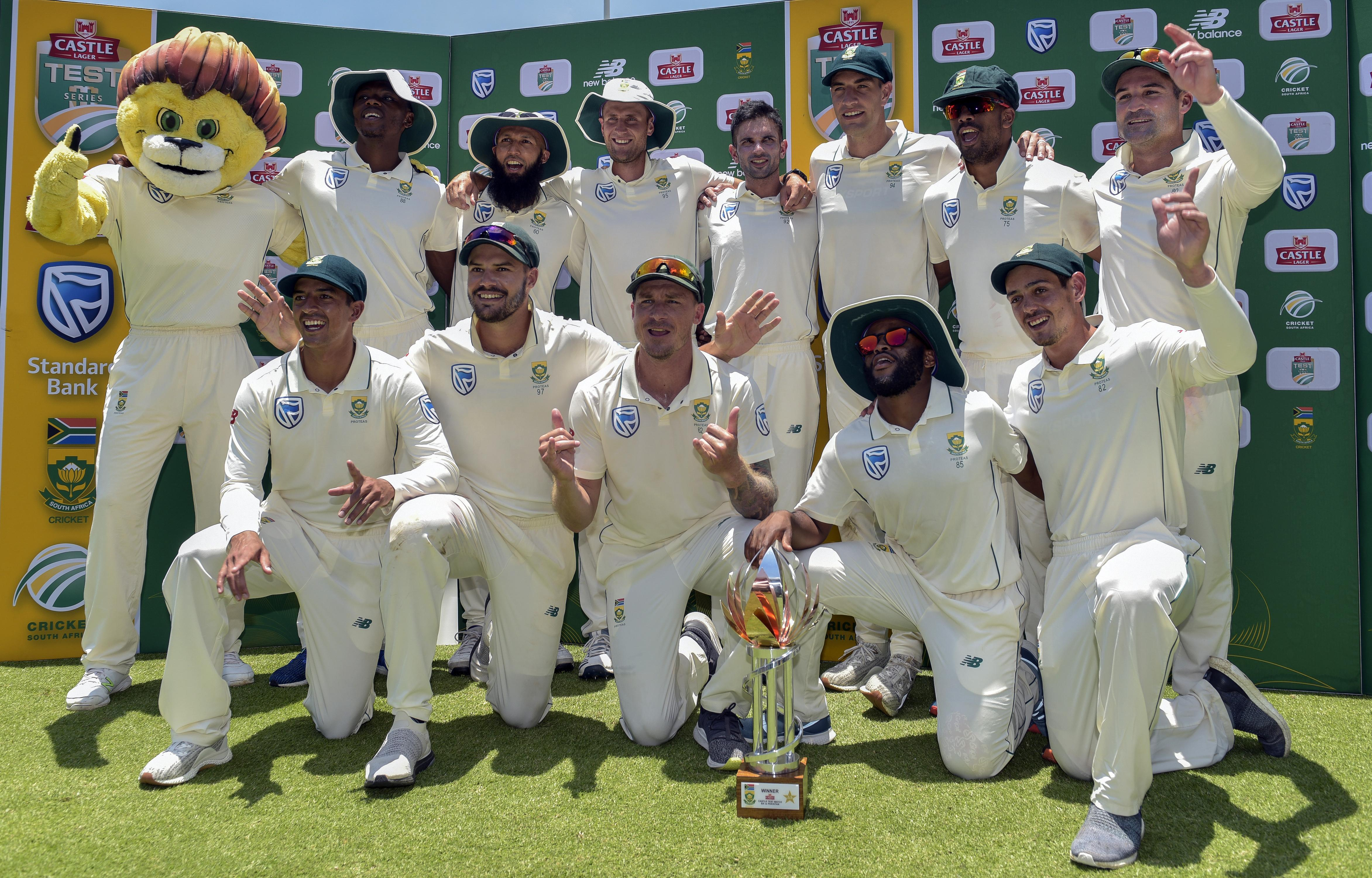 South Africa dominated the recent Test series
