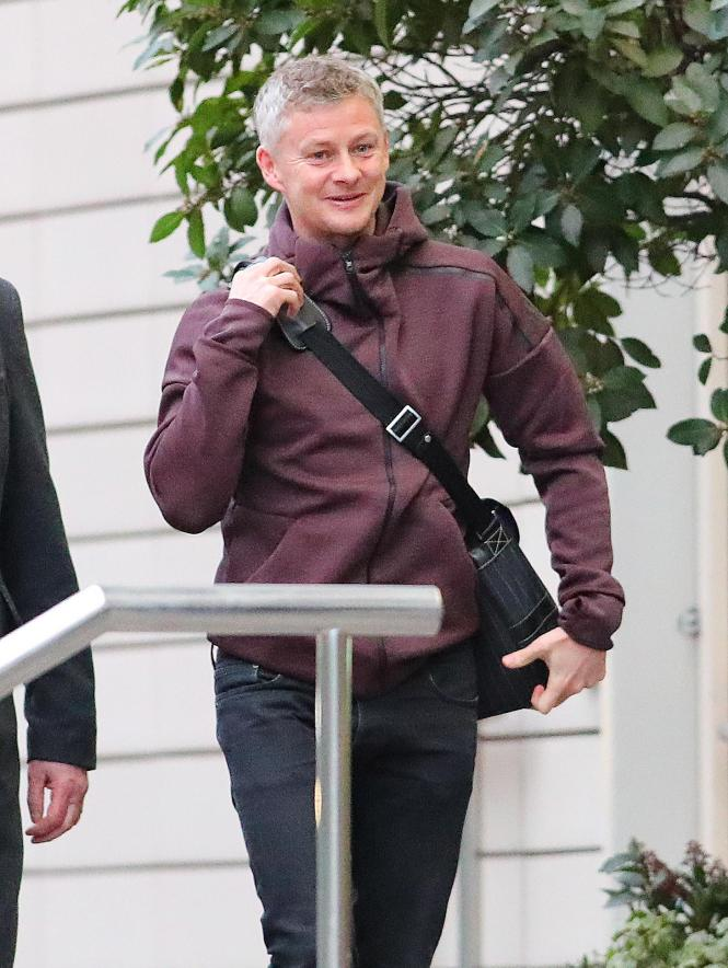 Ole Gunnar Solskjaer will quit the Lowry Hotel for something more homely