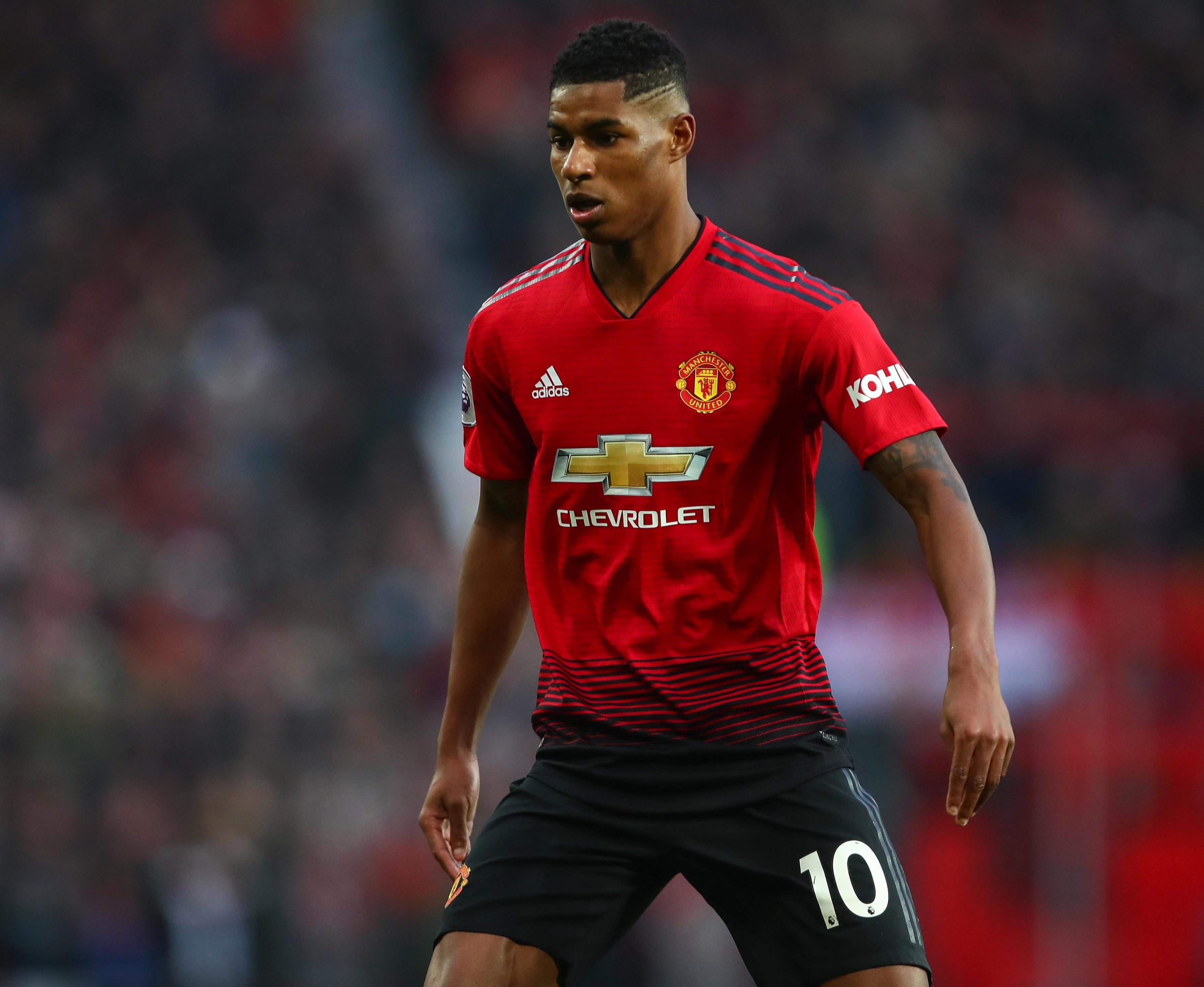 Marcus Rashford is wanted by Real Madrid as he still stalls over signing a new Manchester United deal