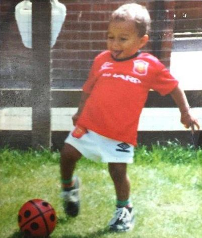 Jesse Lingard has recalled the time his grandad let loose at Stoke fans