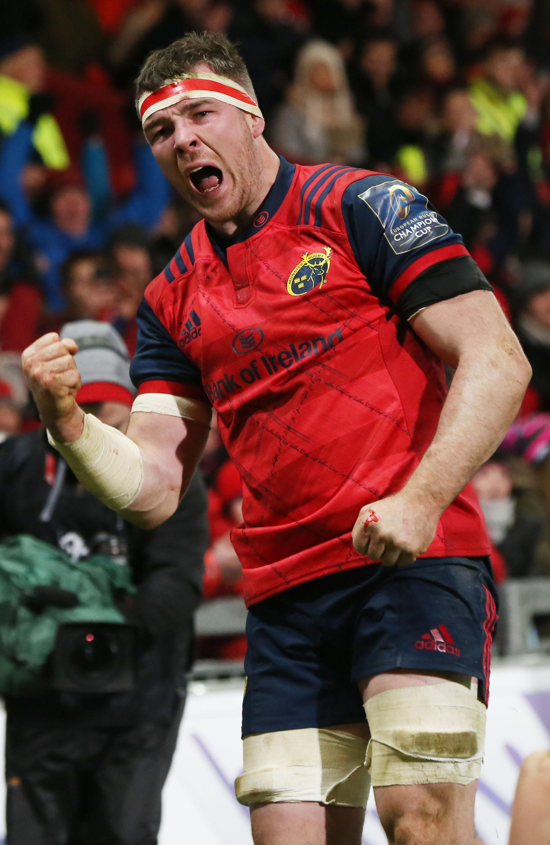 Lions and Ireland star Peter O'Mahony will lead his Munster side at Kingsholm