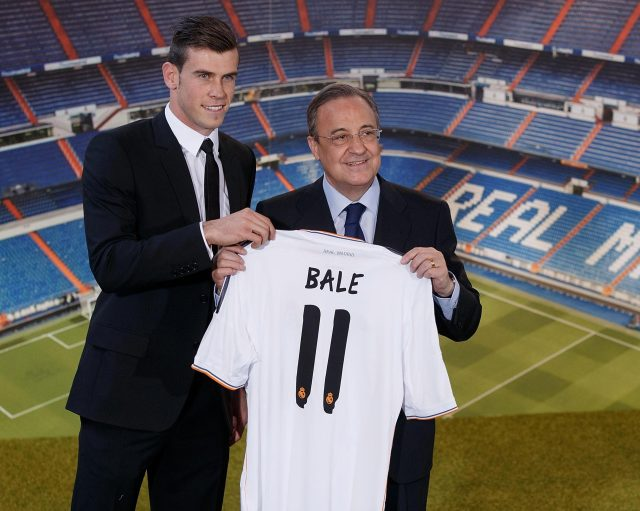 Gareth Bale was once the most expensive player on the planet