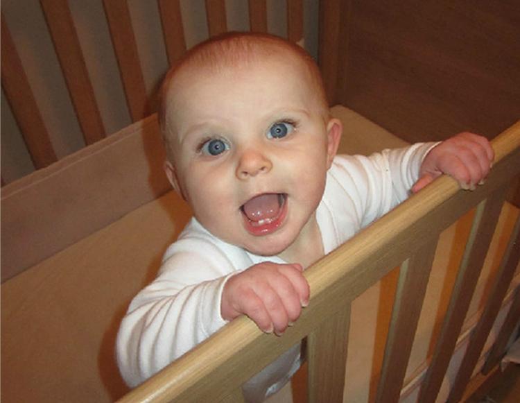 Millie was just nine months old