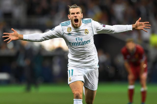 Gareth Bale scored twice in the Champions League final win over Liverpool