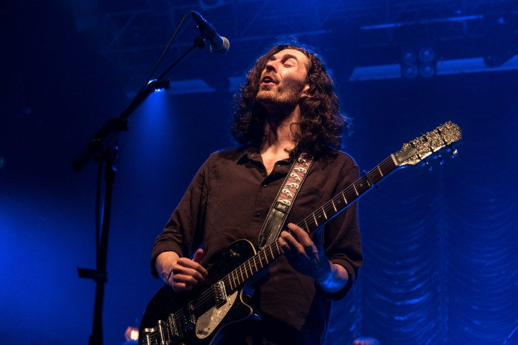 Hozier has become more confident in the studio and on stage