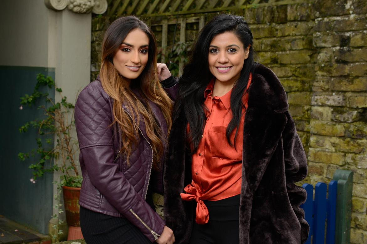 Masood's nieces are due to arrive in Albert Square