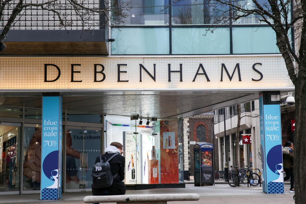 Debenhams stores are selling designer shoes for £1 in huge