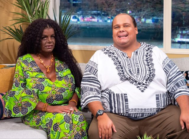 Martina Big and Michael Gross on This Morning recently