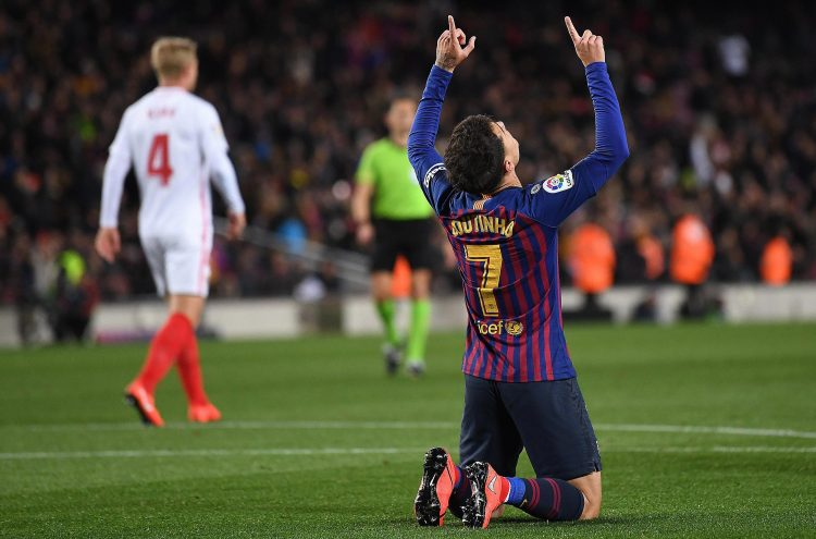 Ex-Anfield hero Philippe Coutinho has hit eight goals in his 33 games for Barcelona but seven of his 21 La Liga appearances have come from the bench