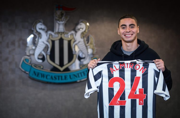 Newcastle shelled out a club-record £20.7m to sign Miguel Almiron last month