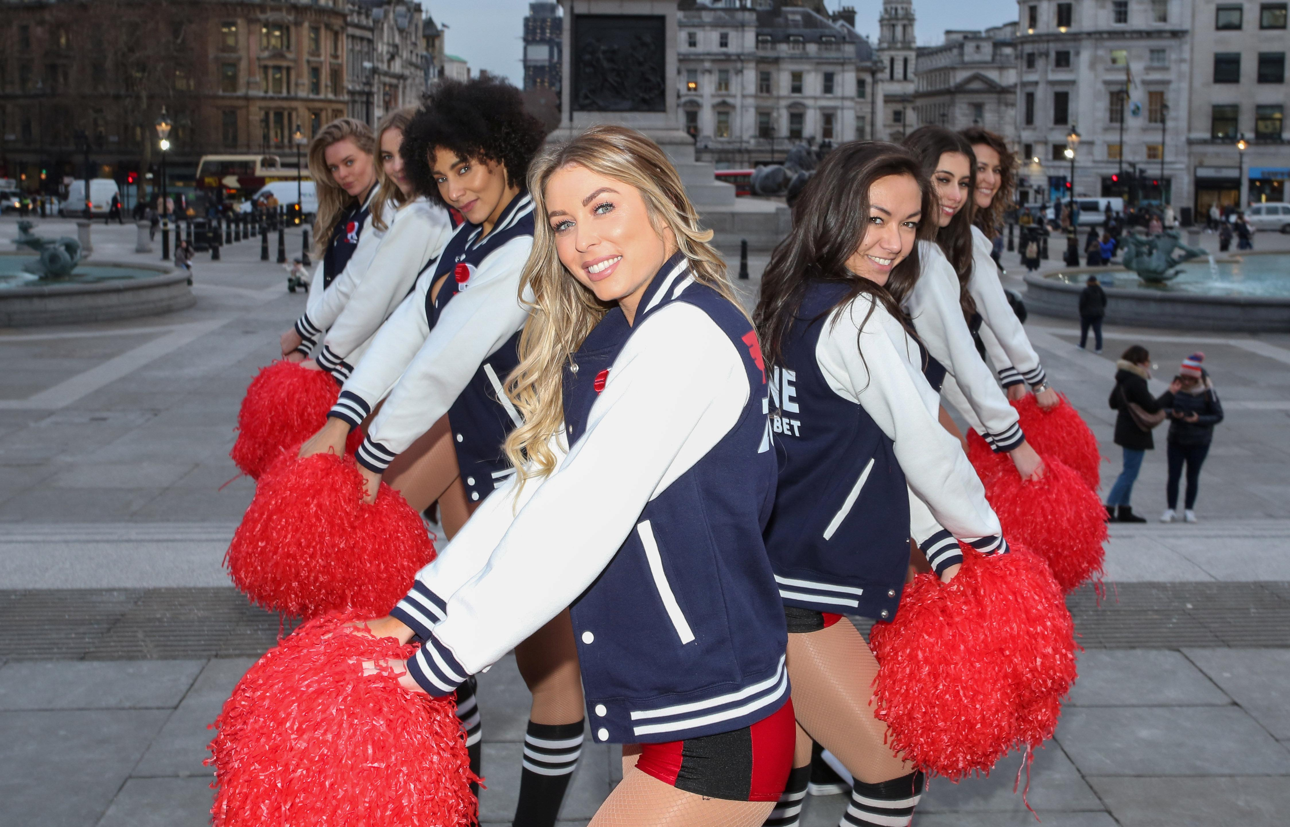 Redzone cheerleaders will perform at Super Bowl parties across the nation