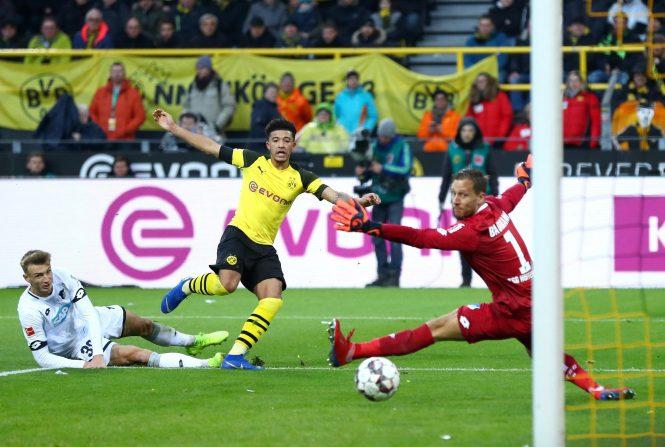 Jadon Sancho was involved in all three of Dortmunds goals vs Hoffenheim