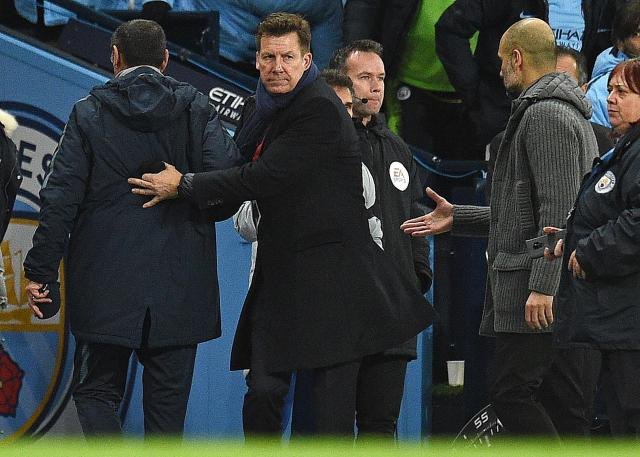 The snubbing of Pep Guardiola shows Sarri is not in the right place mentally, says Petit