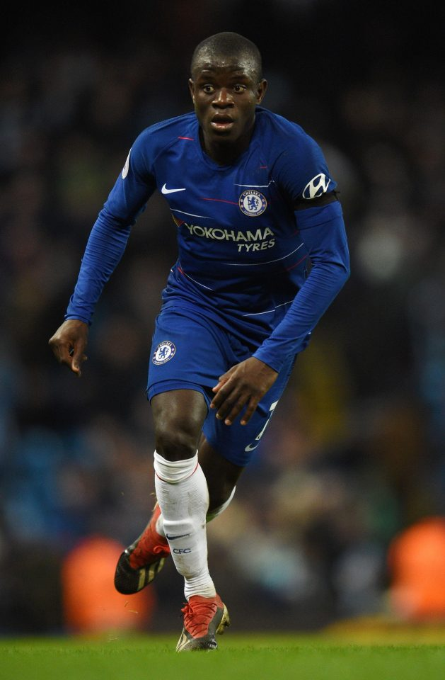 N'Golo Kante has had a disappoiting season as Maurizio Sarri ponders how to fit him in