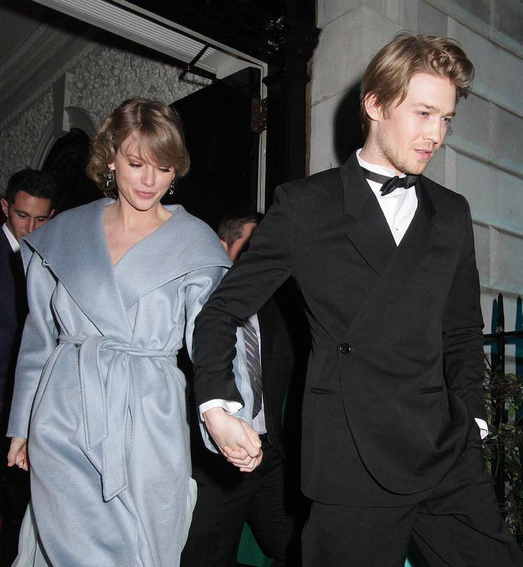 Taylor Swift and Brit actor boyfriend went to Annabel's on Sunday night for the Vogue Bafta event
