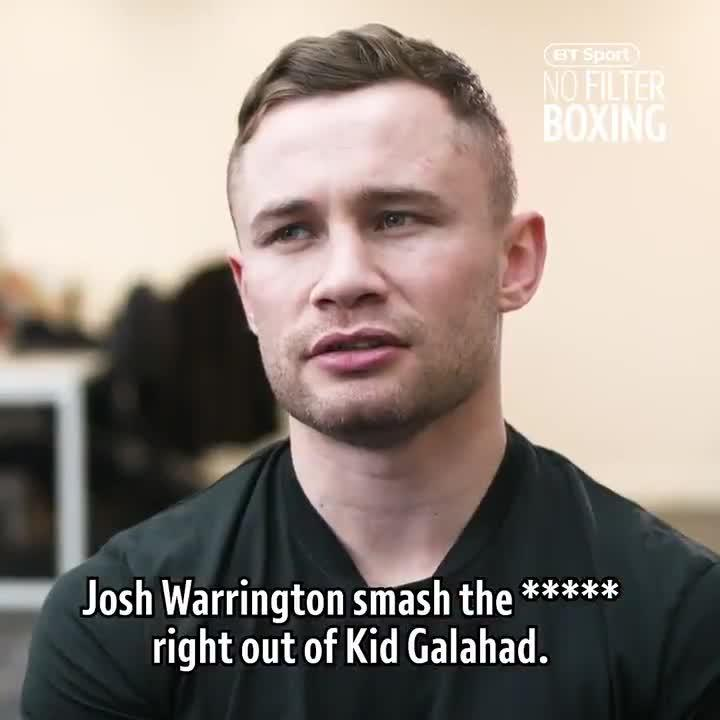 Carl Frampton, beaten by Josh Warrington in December, hopes the victor that night wins in some style