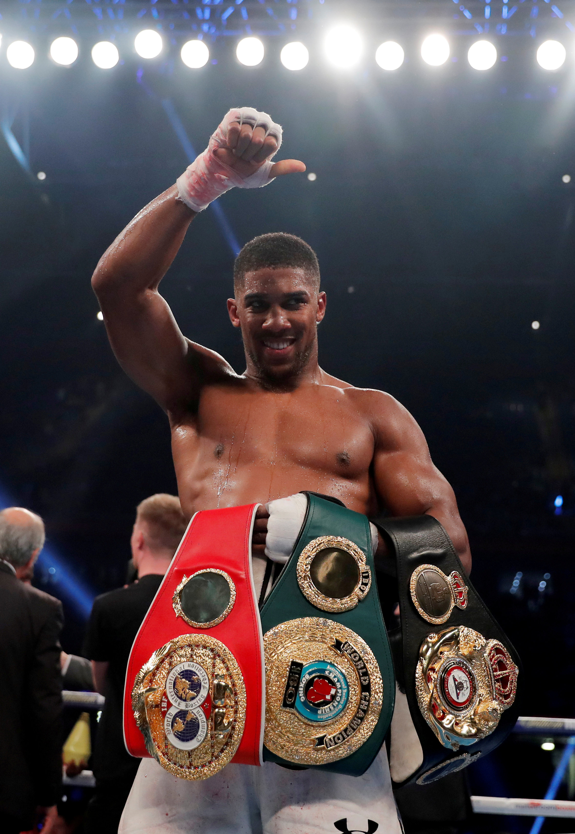 Anthony Joshua is expected to make the most routine defence of his belts when he fights Jarrell Miller
