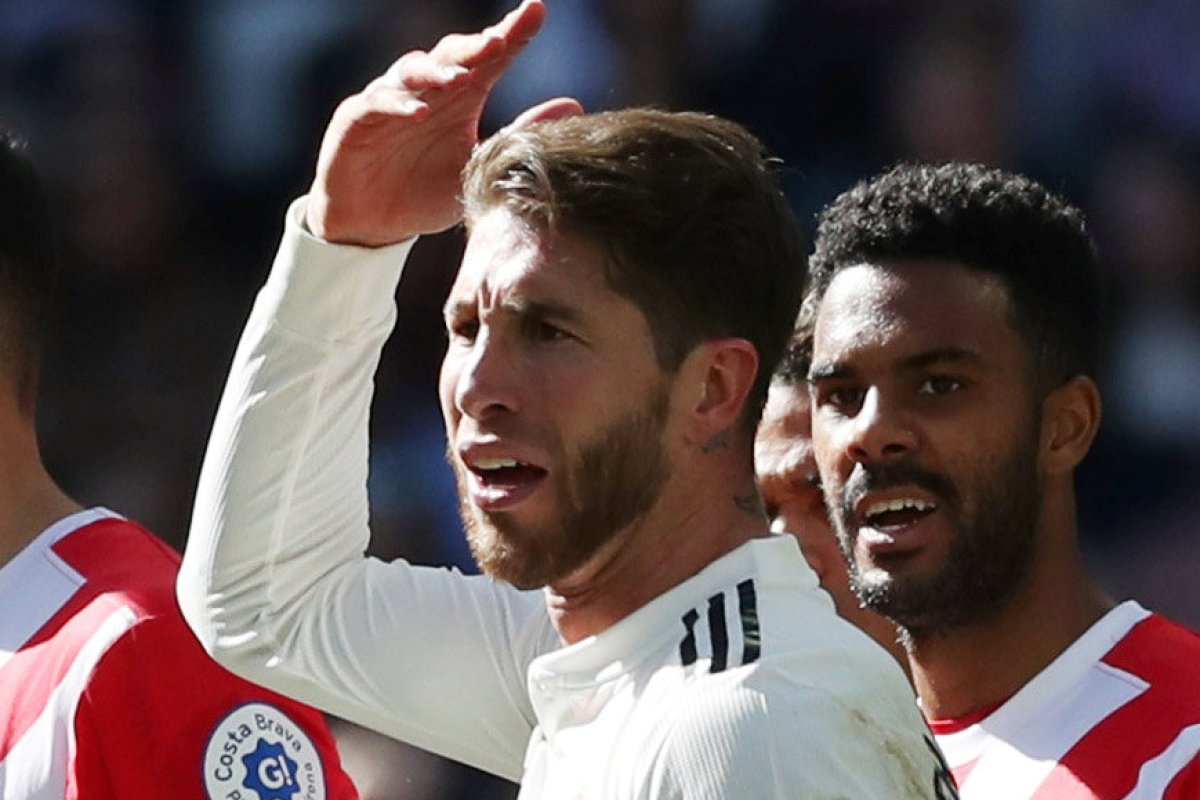 bf4bf71ad45 Real Madrid captain Sergio Ramos to get break ahead of El Clasico double-header  after latest red card